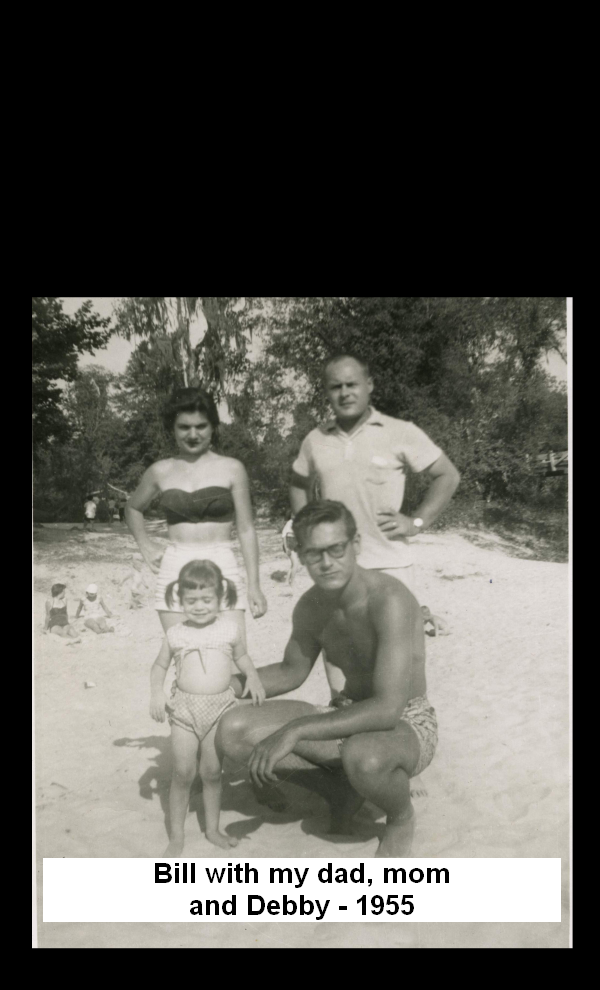 Bill with Harry's family in Florida 1955