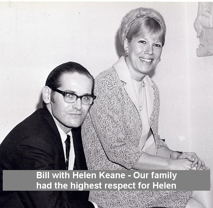 Bill Evans and Helen Keane