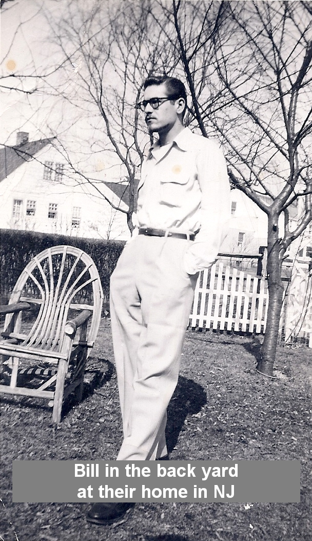 Bill at home in New Jersey