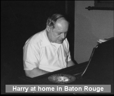 Harry Evans at Home